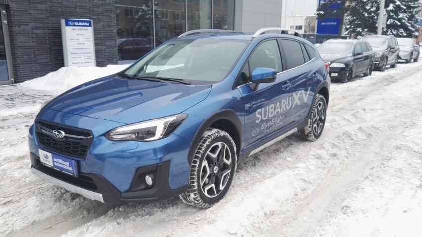 Subaru XV REZERVUOTA